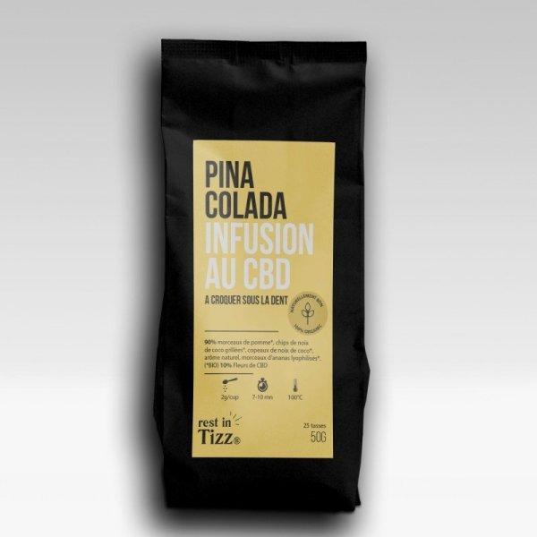 Infusion Pina-Colada chanvre bio
