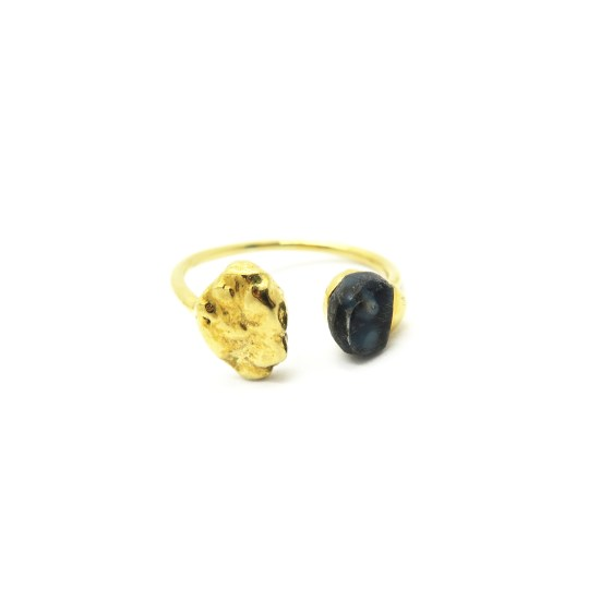 Quimby Ring – Aegean/Gold