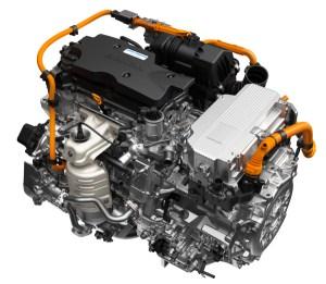2018 Honda Accord Hybrid features thirdgeneration MMD twomotor system; no heavy rareearth