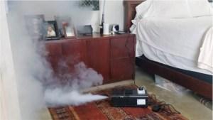 hot fogging for mold
