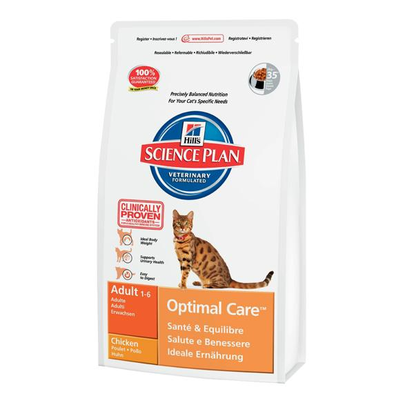 Корм для кошек Hill's Feline Adult Optimal Care с Ягненком