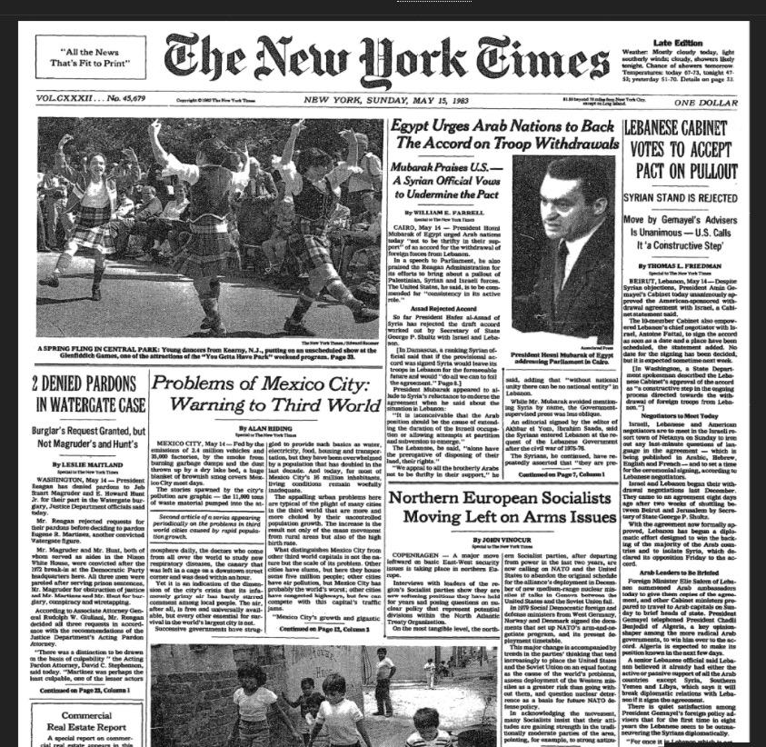 May 15, 1983