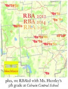 RBA 2015 map