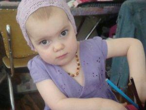 Aimee's hat – worn by the cutie herself!