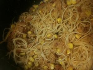 RECIPE: Sauerkraut Spaghetti