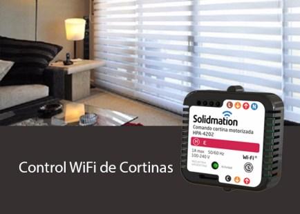 Control WiFi de Cortinas Motorizadas