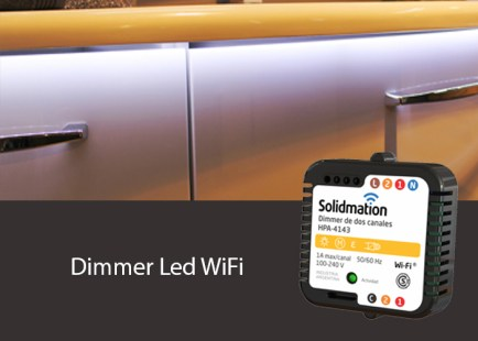 Dimmer WiFi para Lámparas LED dimmerizables