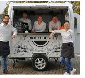 De BioExpress met trailer op 10de editie Avondvierdaagse Nieuw-Vennep