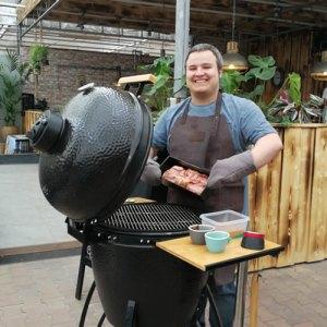 LIVE COOKING BIJ lunchroom & cateringservice BIOEXPRESS