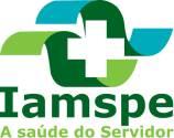 logo do plano de saúde Iamspe – A saúde do servidor