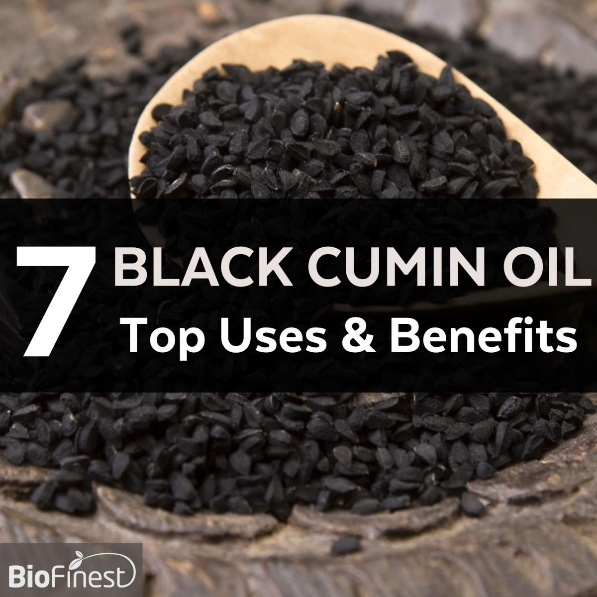 7 Fantastic Health Benefits Of Black Cumin Seed Organic Oil