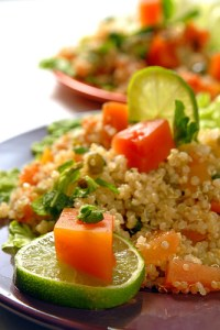 Sunshine quinoa salad by sonicwalker. Via flickr.