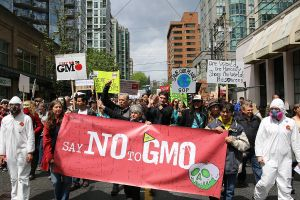 Marching against Monsanto, Vancouver BC by Rosalee Yagihara via Flickr