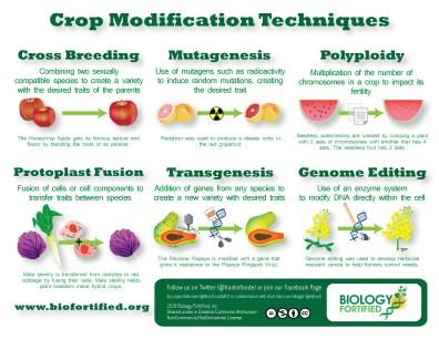 Crop Modification Techniques