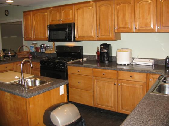 clean kitchen natural fresh smell
