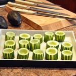 Cucumber cups