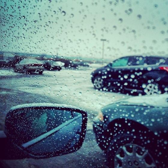 cars rain ice snow