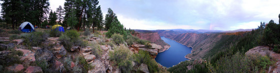 Canyon Rim Campground image by Kylir Horton via Flickr Creative Commons license.