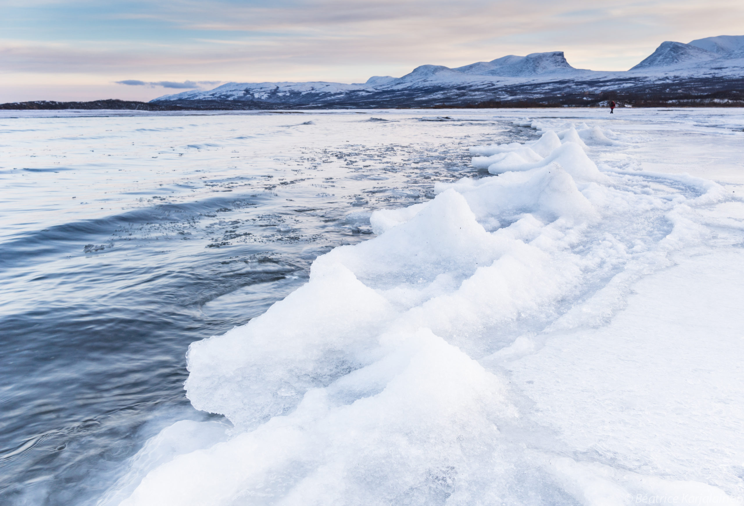 Frozen Waves, Biofriendly Image of the Day