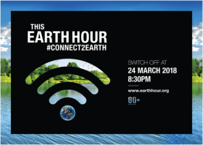 Earth Hour 2018: Taking One Hour to Connect to Earth