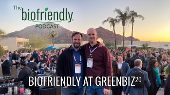 Biofriendly At GreenBiz 20