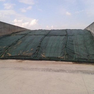 Siatki ochronne na silos