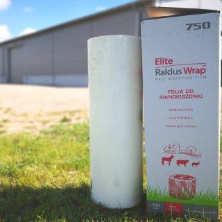Folia do sianokiszonki Elite Raldus Wrap 750 mm