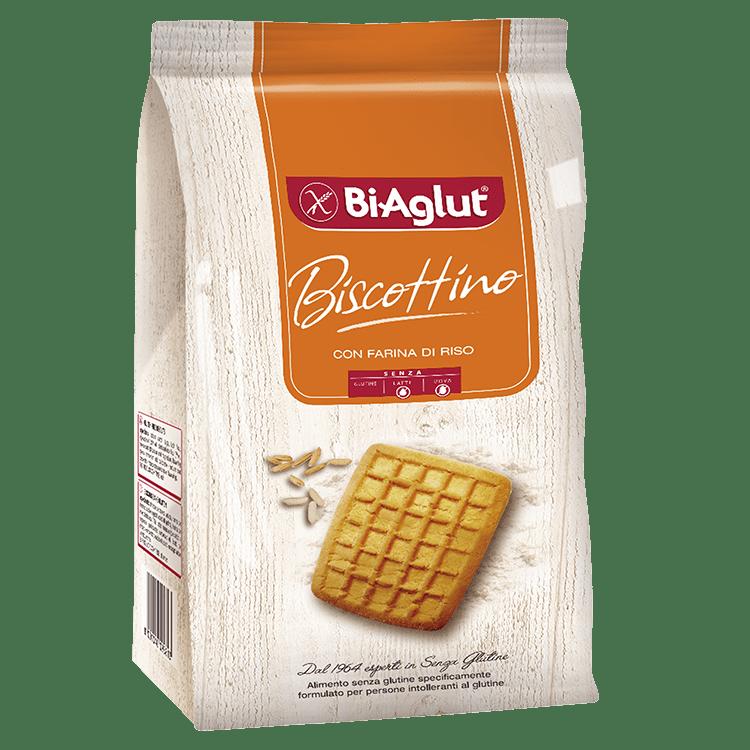 Biscottino biaglut senza glutine e senza lattosio e senza uova