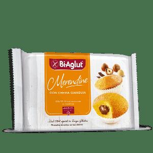 Merendina con crema di gianduia biaglut senza glutine