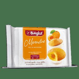 Merendine all'albicocca biaglut senza glutine