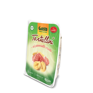 Tortellini al crudo giusto senza glutine e senza lattosio