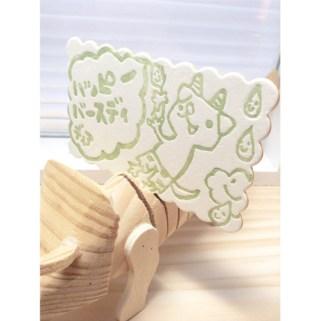【Press-card】ハッピーバースディーディア○○○!   はだかんぼねずみ商店
