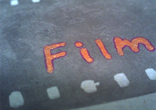 活版印刷フィルム