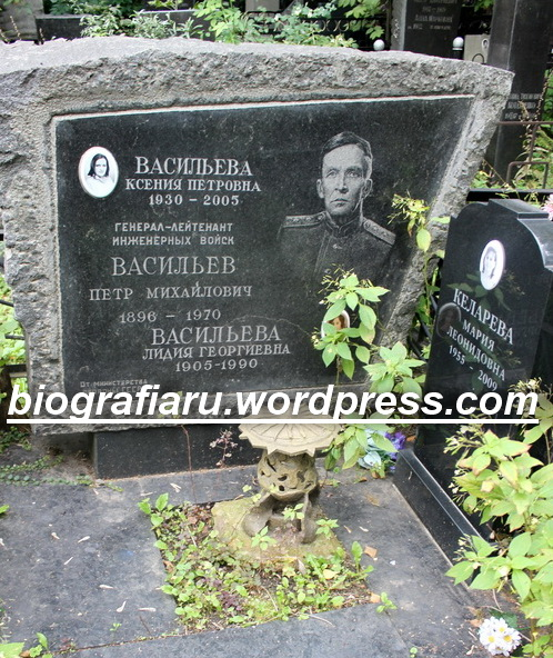 ВАСИЛЬЕВ Петр Михайлович(1896-1970) | Информационный сайт