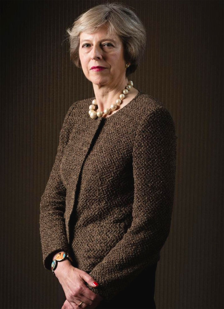Theresa May Biografia