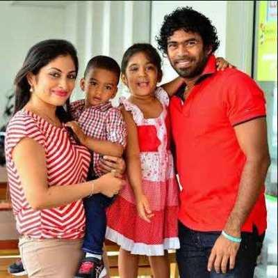 Lasith-Malinga-Family