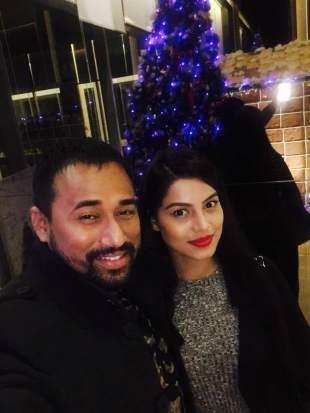 Preety Kongana & singer Shimanta Shekhar
