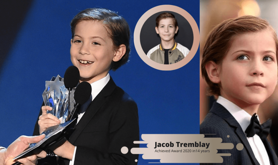 Jacob Tremblay achieved award 2020 in14 years