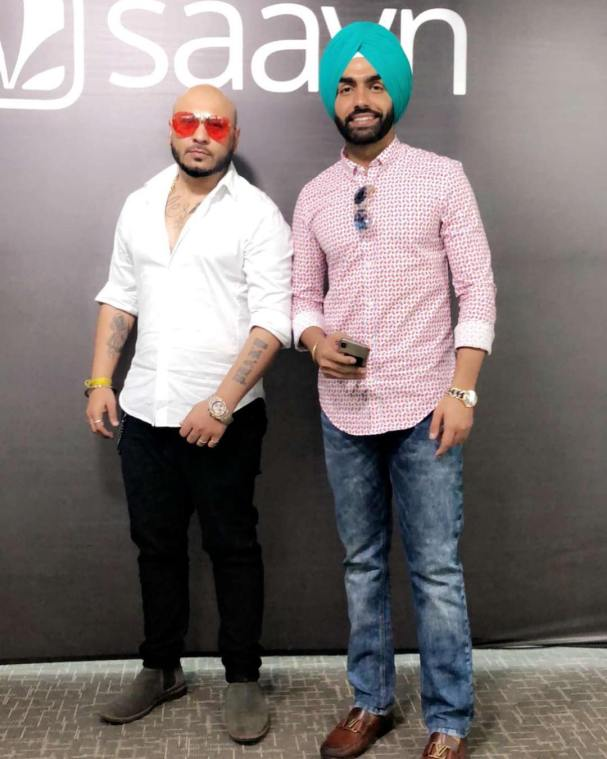Ammy Virk with B praak
