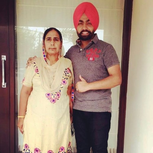 Ammy Virk's Mother