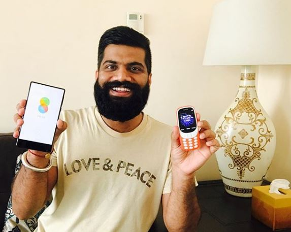 Gaurav with CellPhones