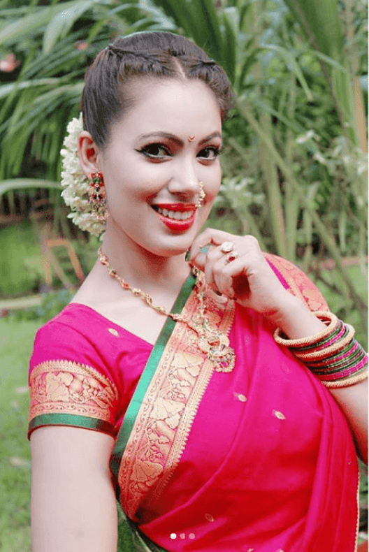 Munmun Dutta in Traditional Saree