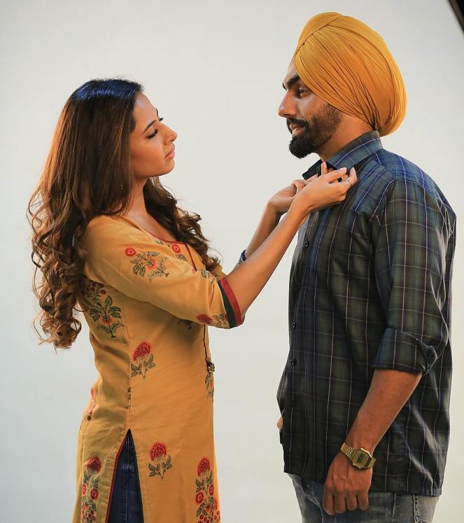 Ammy Virk with Sargun Mehta