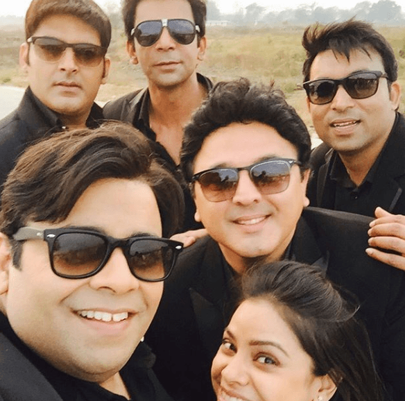 Kiku Sharda with his team