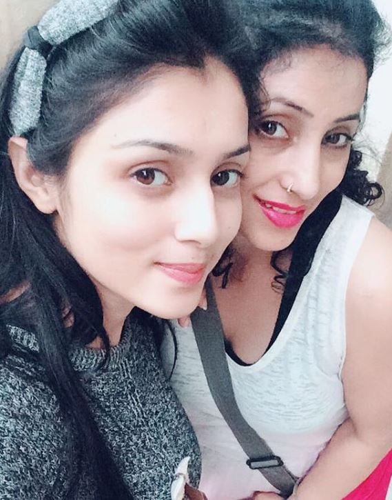 Mallika Singh with Mother