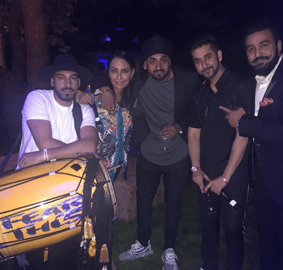 Raj Kundra with Friends
