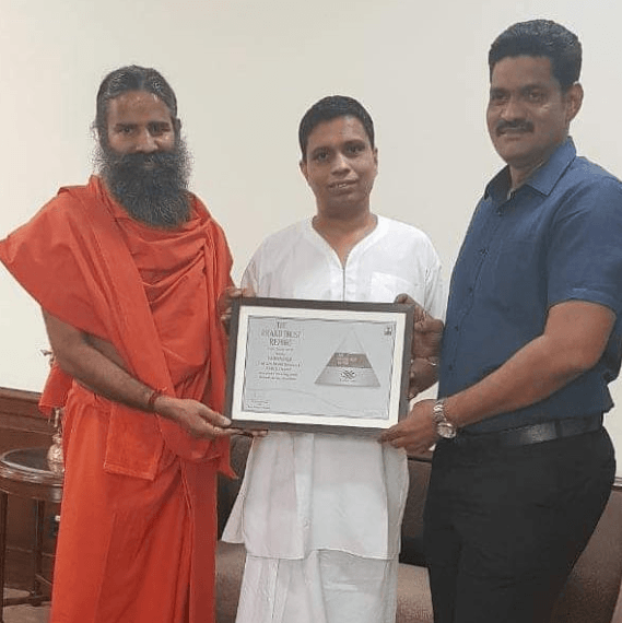 Baba Ramdev Awards