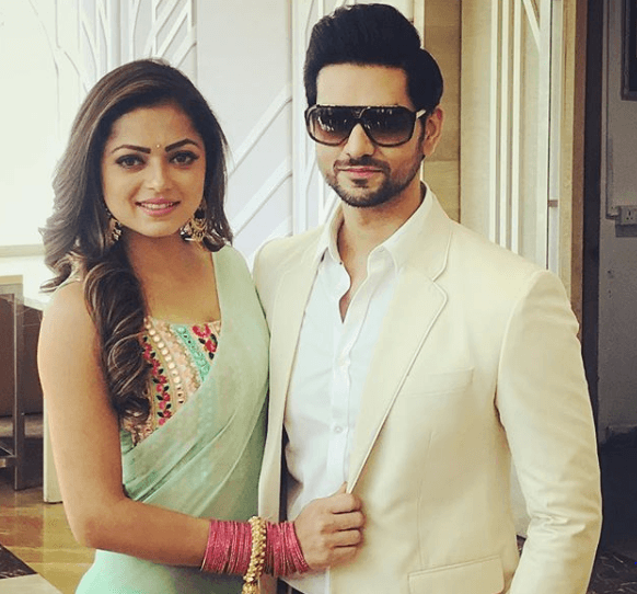 Shakti Arora with Drashti