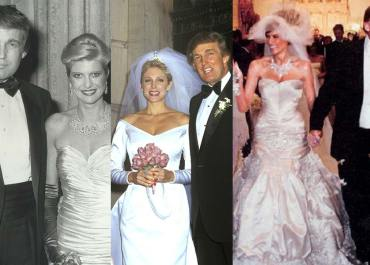 Donald Trump relationship history with wife Melania Trump and ex wives- Marla Maples and Ivana Trump