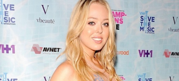 TIffany Trump is the second daughter of Donald Trump from ex-wife Marla Maples.